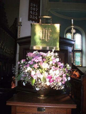 Pulpit Flowers Summer '14