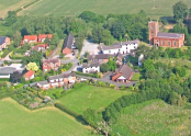 Church Minshull Aerial Photo by Dave Wallis