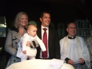 Isabelle Katie Boote Baptism