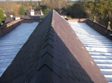 Completed Church Roof