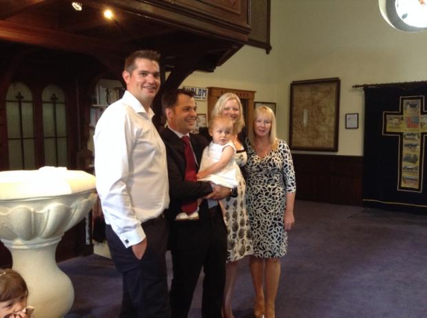 Jessica Boote Baptism