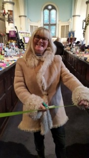 Kerry opens the Christmas Fair
