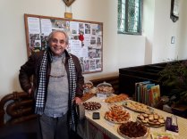 Sylvester McCoy, (Dr Who & Lord of the Rings) dropped in to say Hello