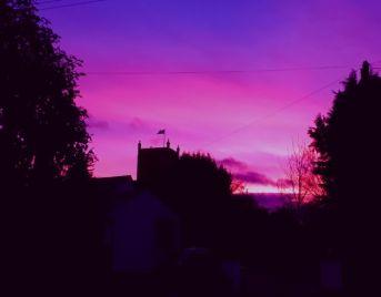 January Sunset 2018