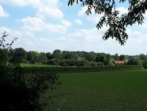 St Bart's across the fields