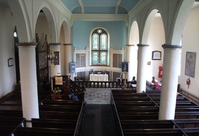 St Bart's Interior 2018 B